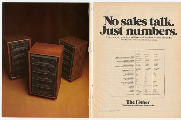 Adspast Com 1974 Fisher Studio Standard Speakers 2 Pg Ad