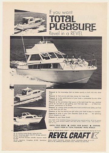 Adspast Com 1969 Revel Craft 37 Adventurer 30 Holiday